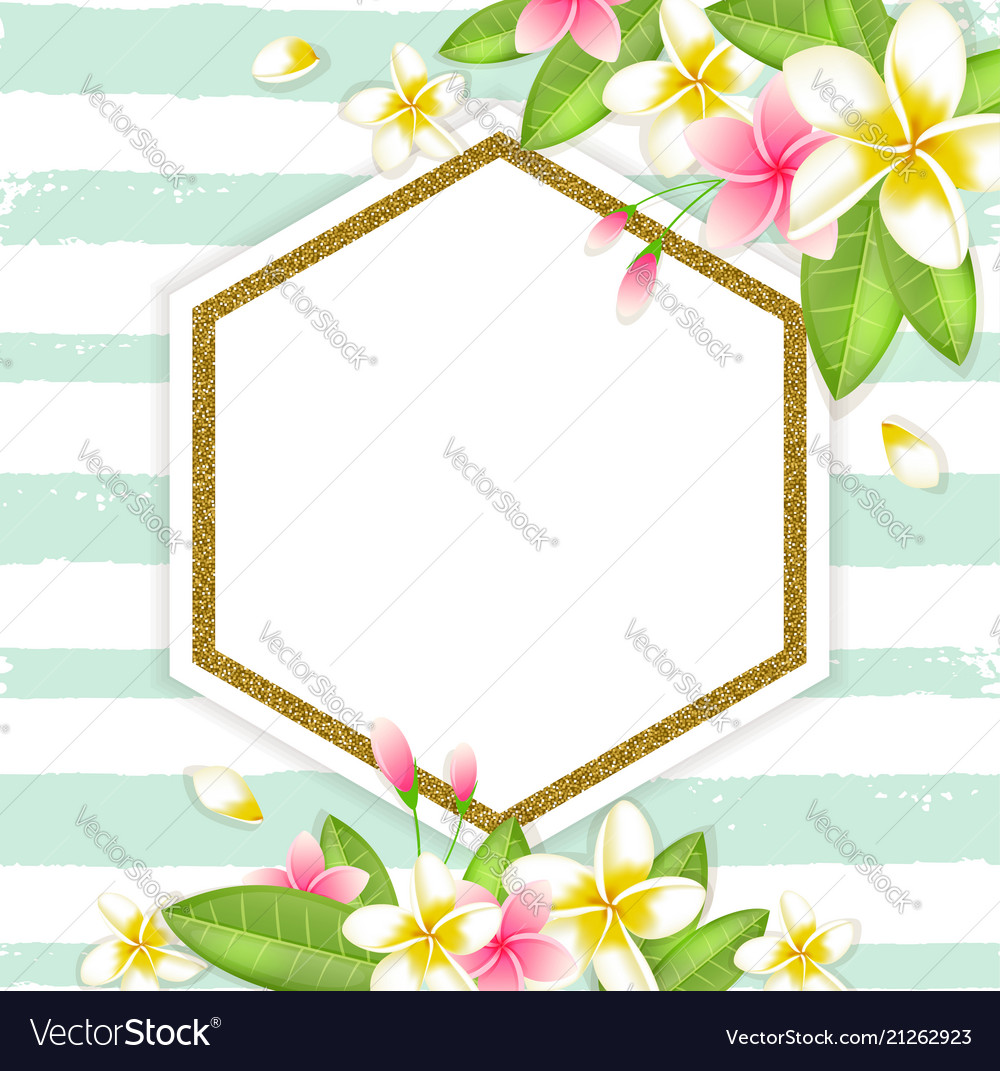 Abstract summer floral tropical background