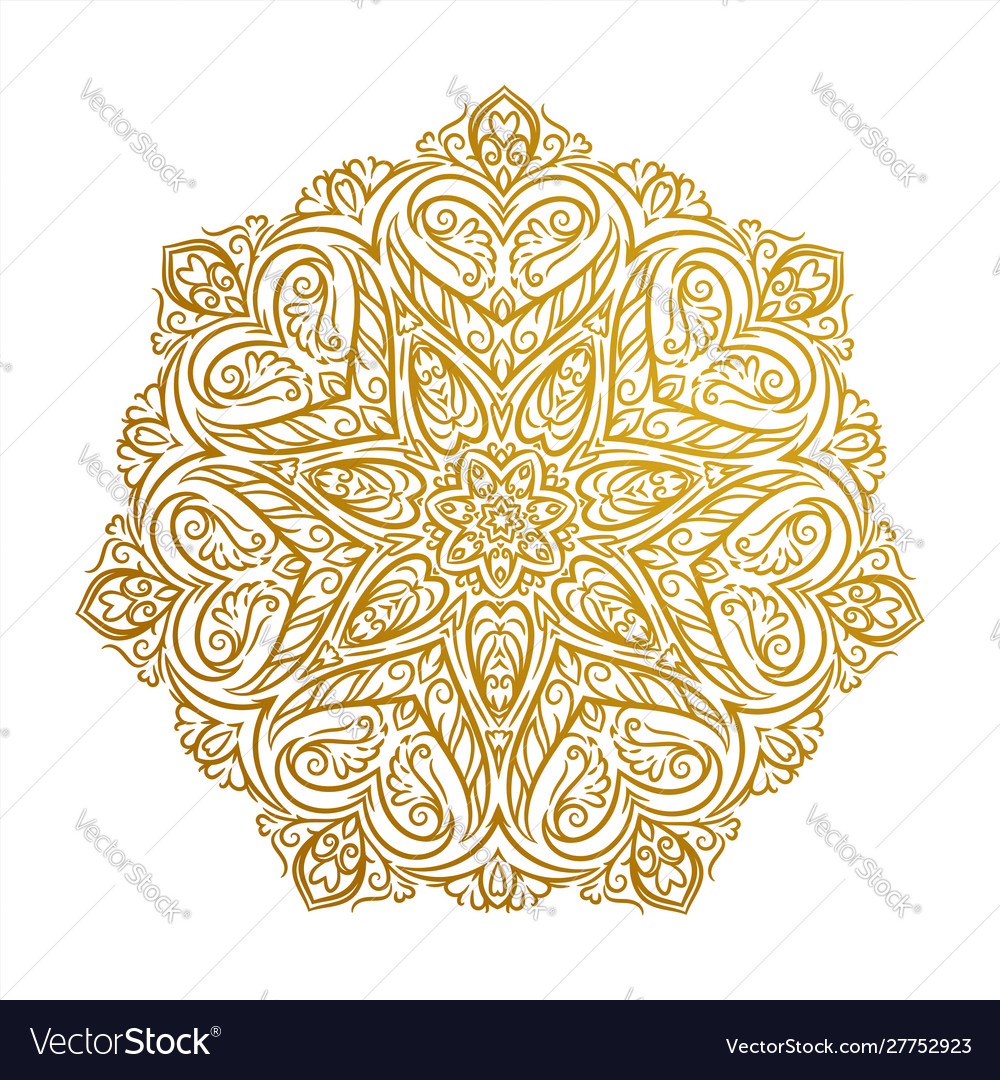 Beautiful mandala decorative element