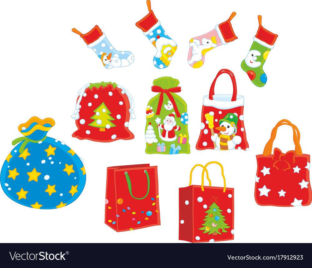 Christmas Gift Bags Images.Christmas Gift Bags