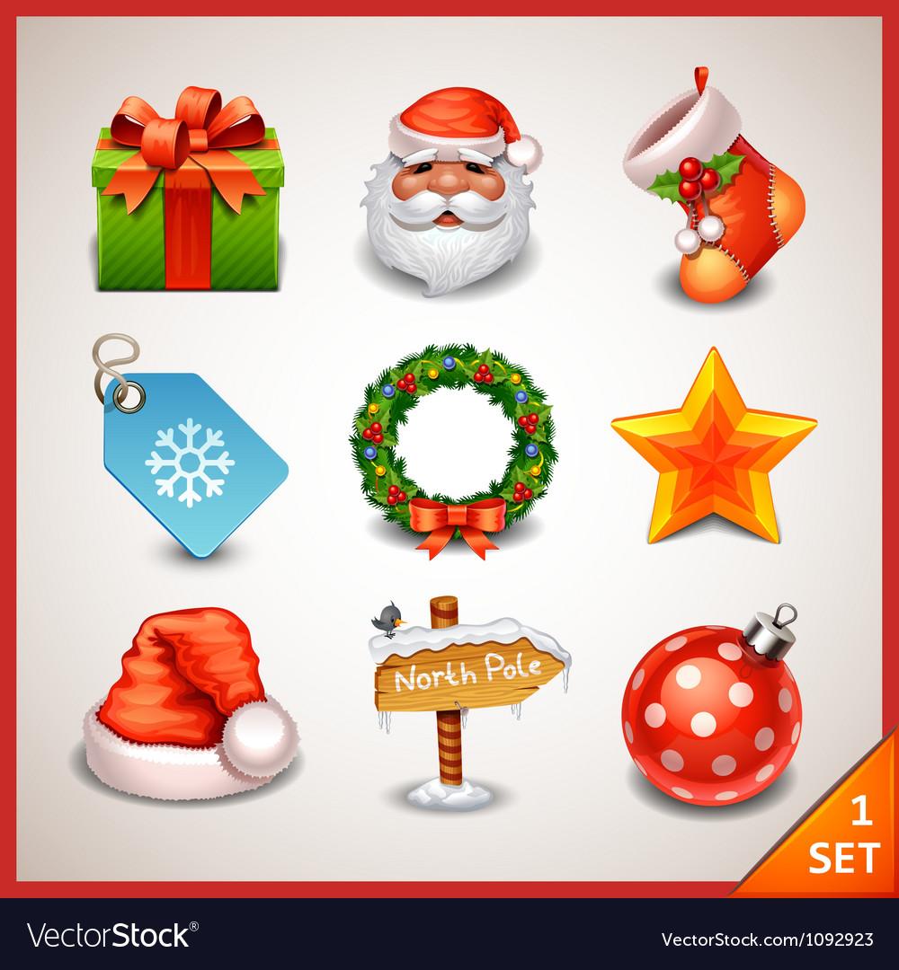 Christmas icon set-1
