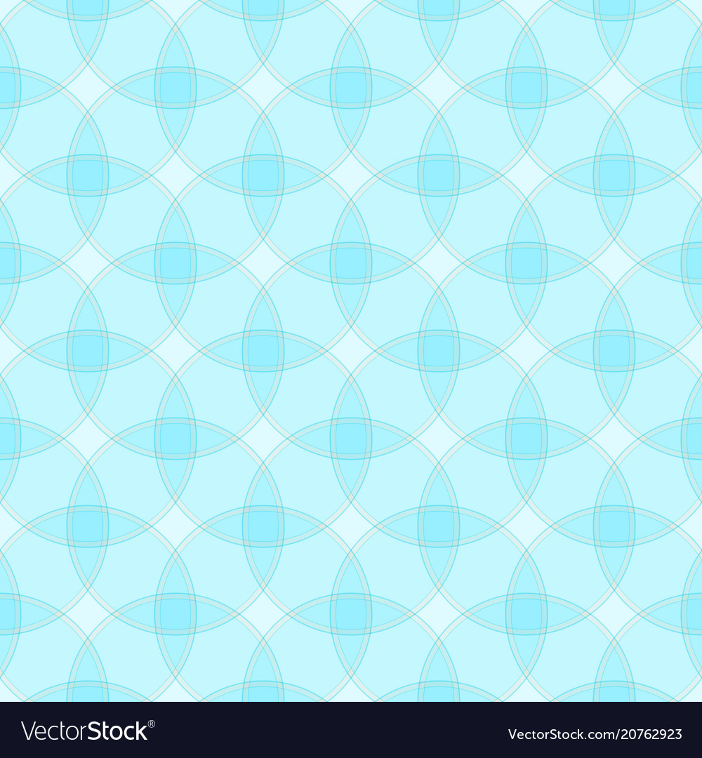 Seamless pattern with intersecting circles