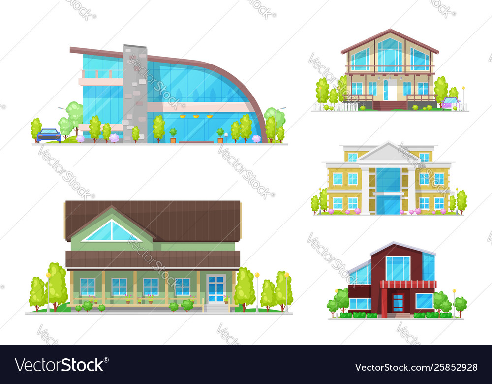 House or home buildings town and village property