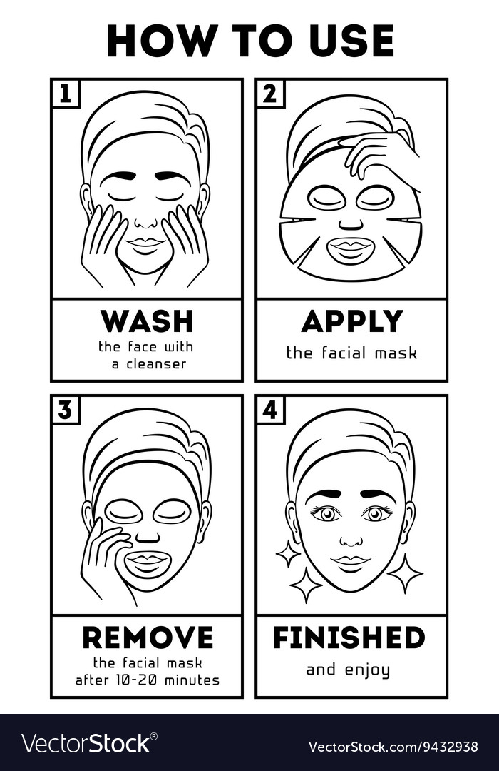 How to use facial sheet mask beauty and