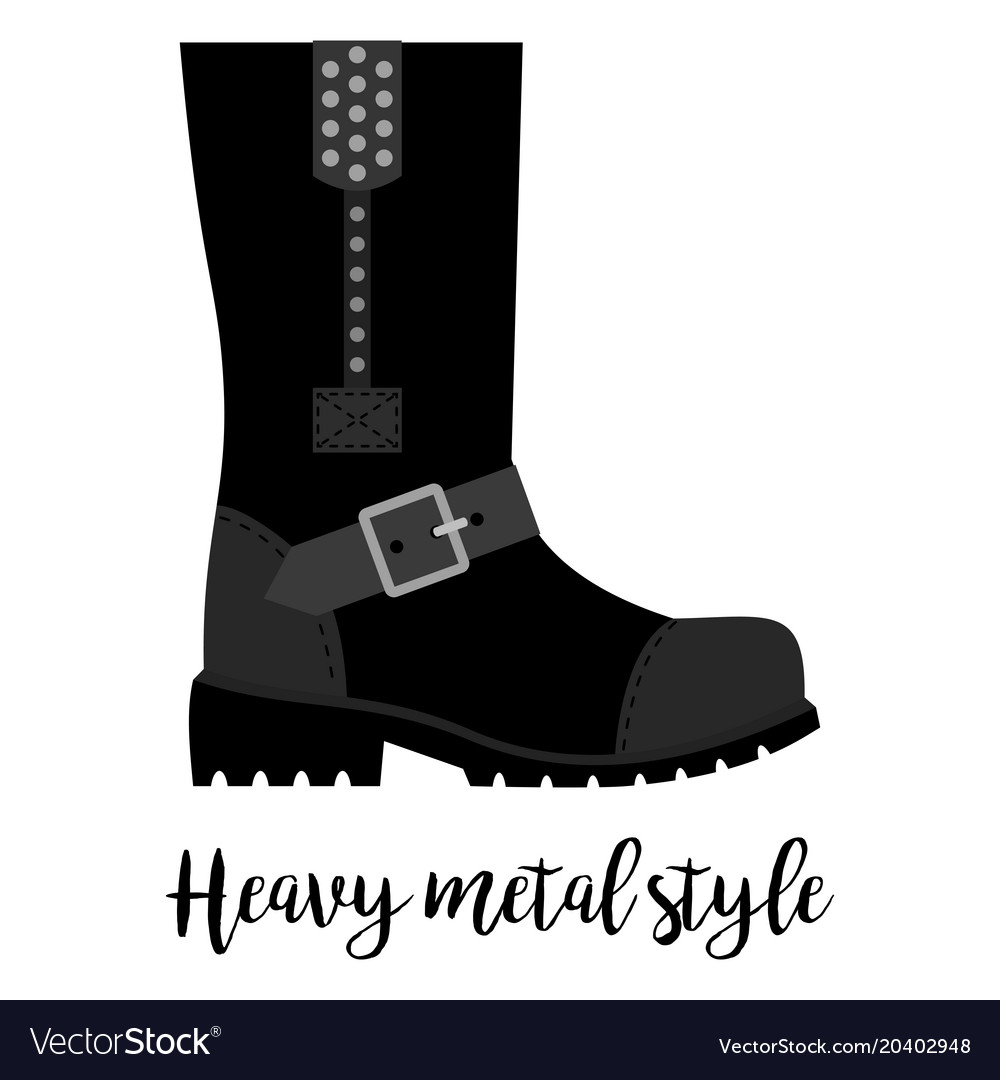 a43f92a282f Heavy metal style shoe icon