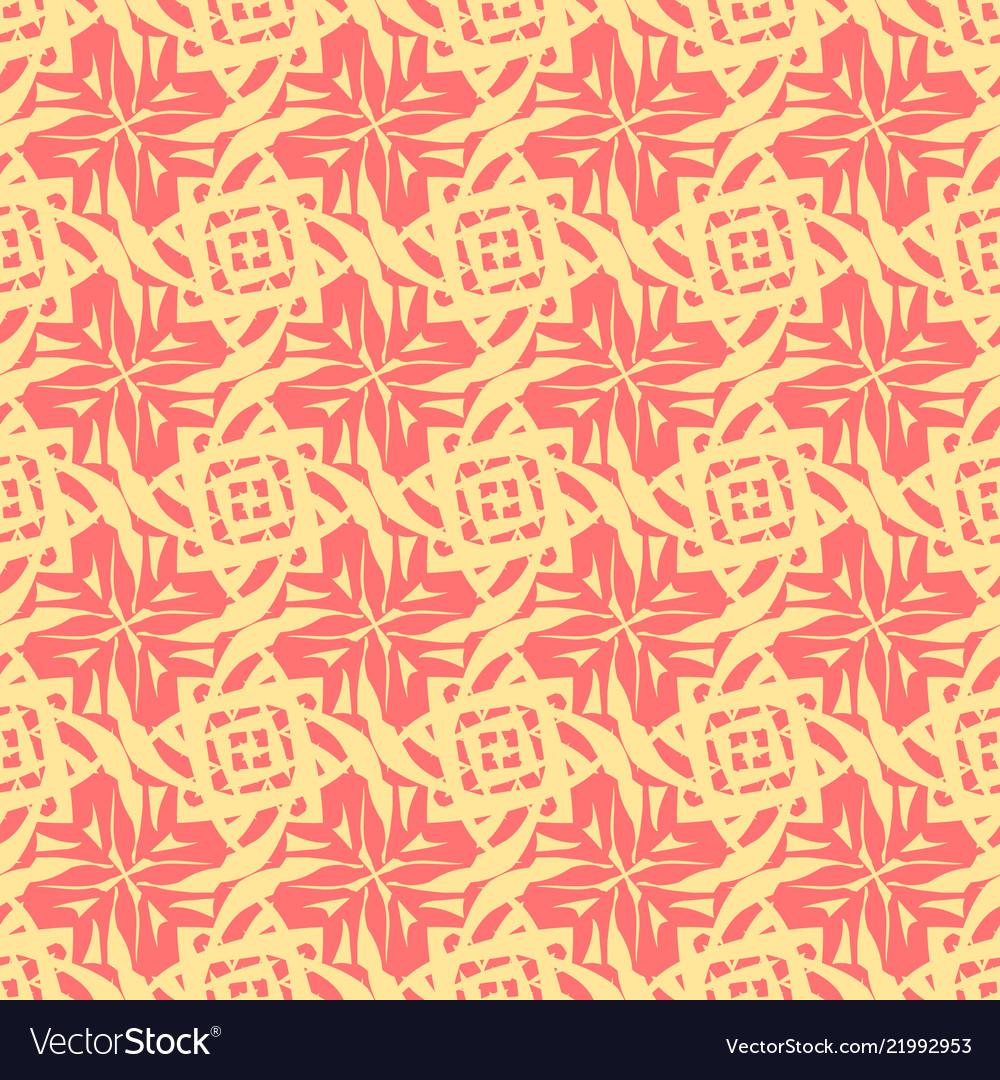 Abstract geometric pattern seamless