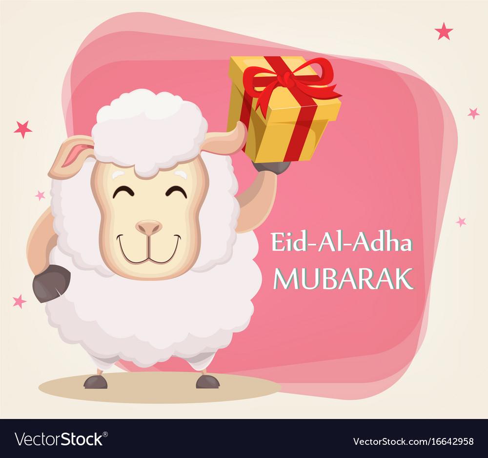 Festival of sacrifice eid al-adha traditional
