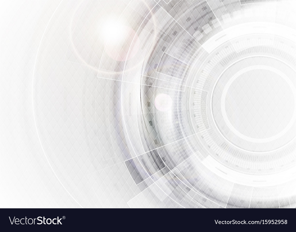 Grey and white futuristic technology abstract