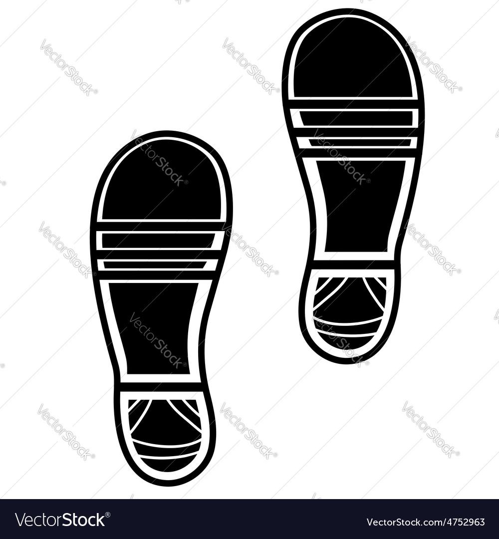 Clean Shoe Imprints