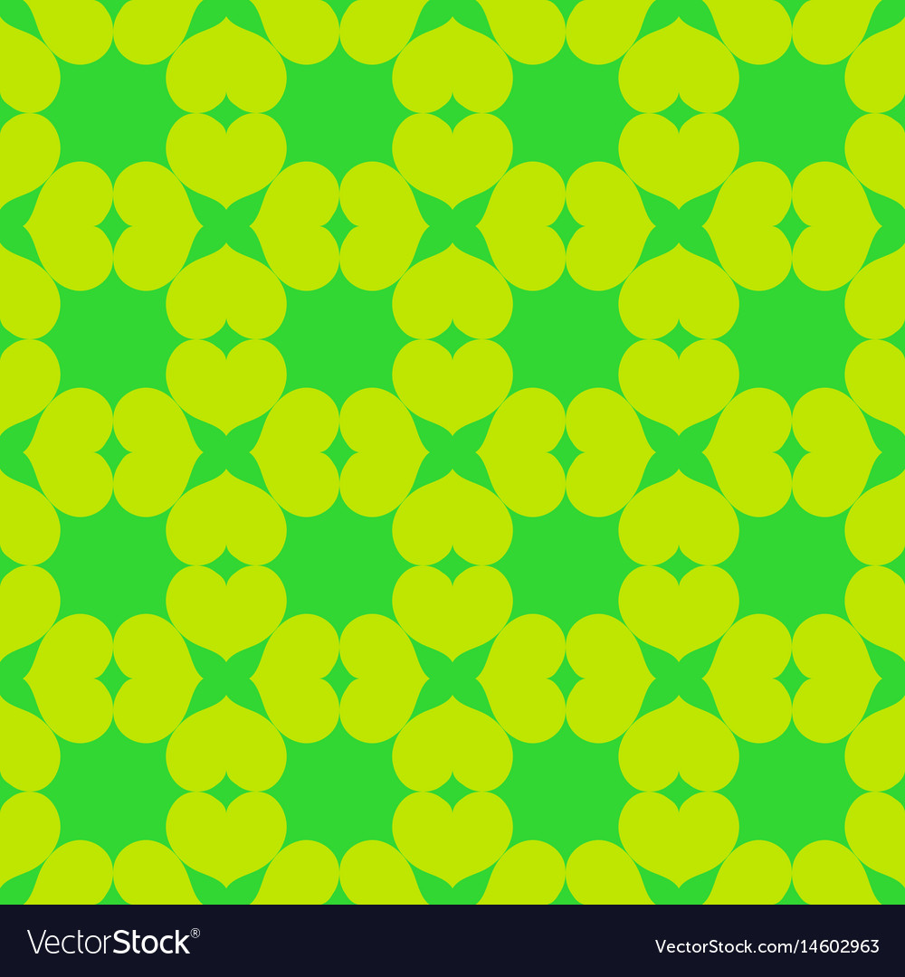 Heart chaotic seamless pattern 104 vector image