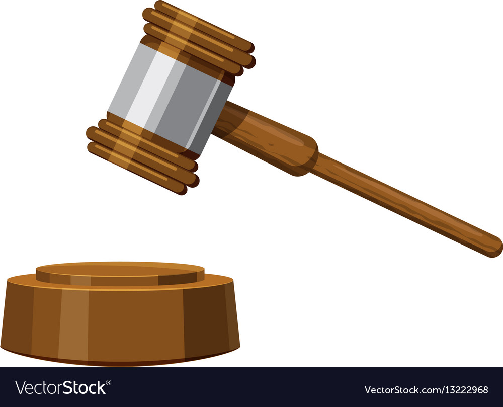 gavel icon cartoon style royalty free vector image rh vectorstock com cartoon gavel image cartoon gavel images on shutterstock