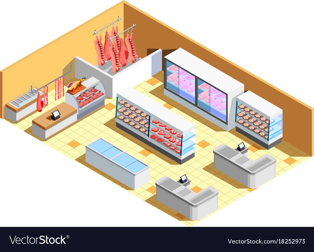 Detailed Plan Of A Butchery – Modern House