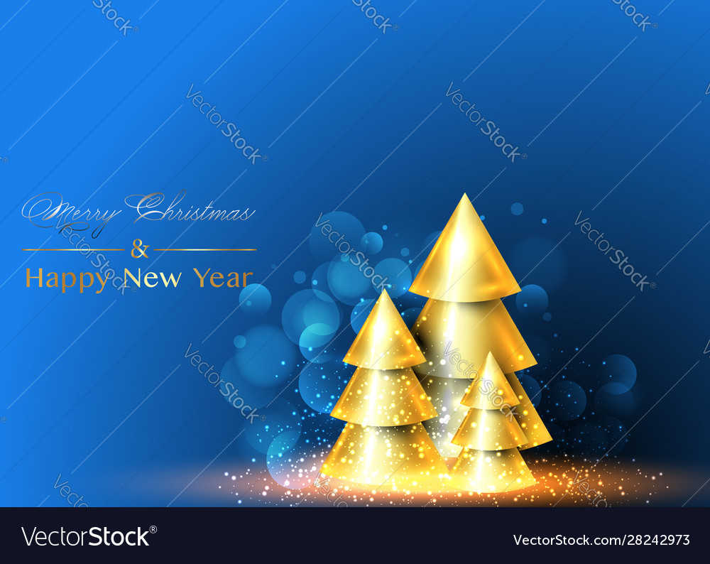 Christmas and happy new year background xmas pine