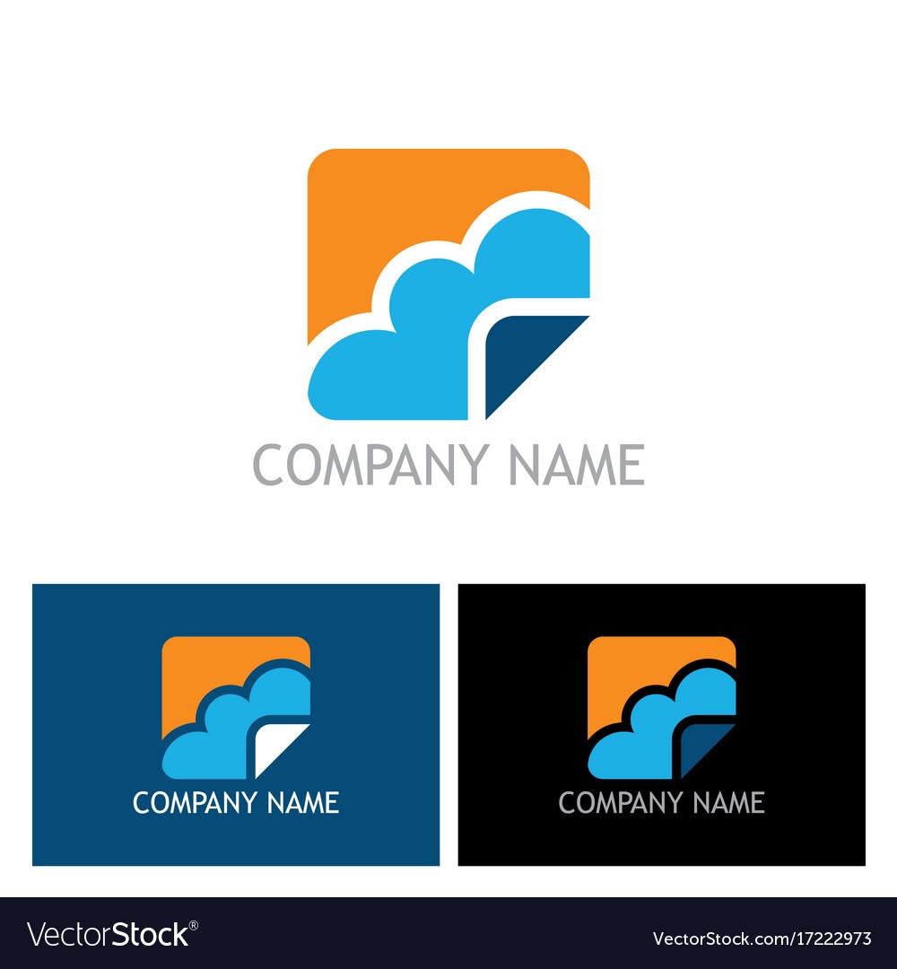 Cloud icon logo