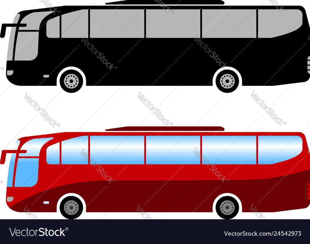 Coach bus simple