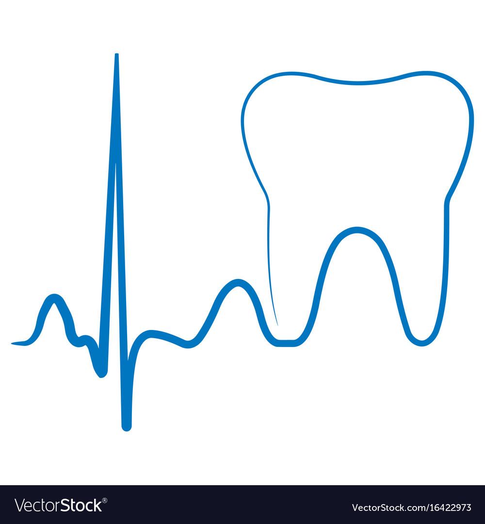 Logo for the dental clinic office the impulse
