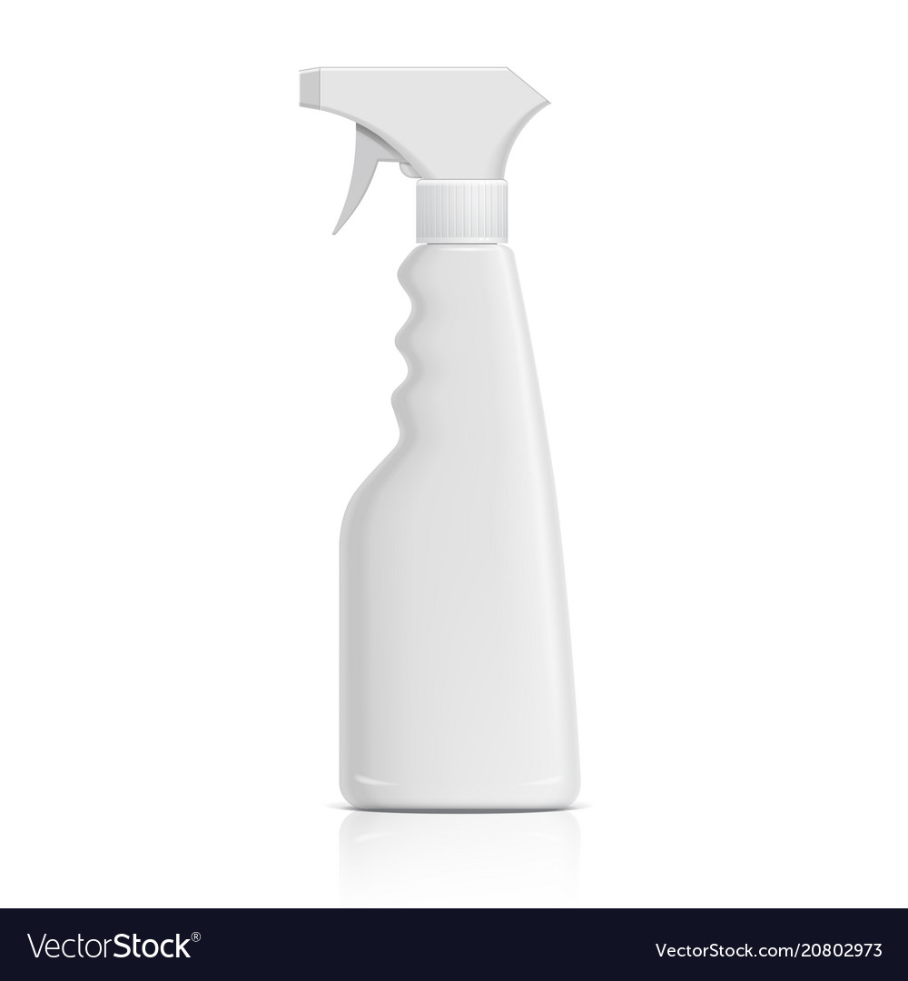 Plastic bottle can spray pistol vector image