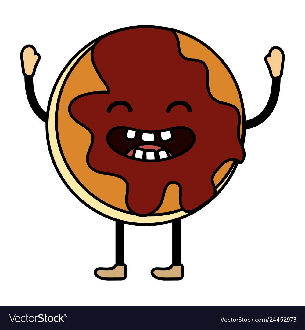 Sweet cookie cartoon