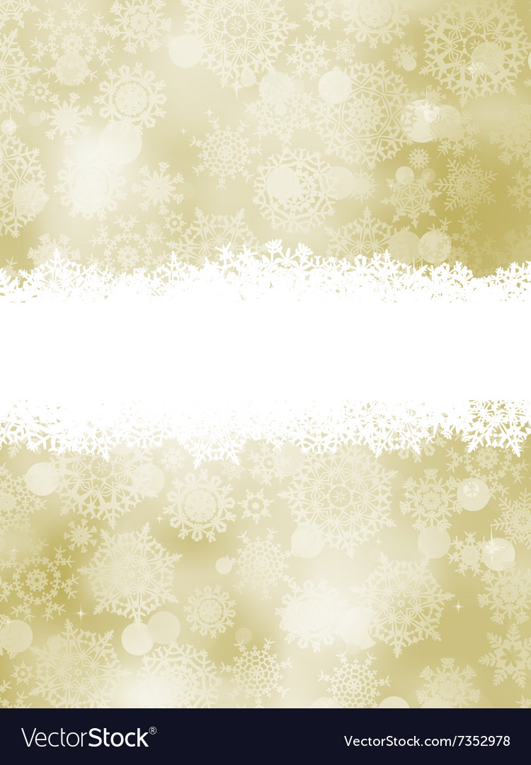 Elegant new year and cristmas card template EPS 8 vector image