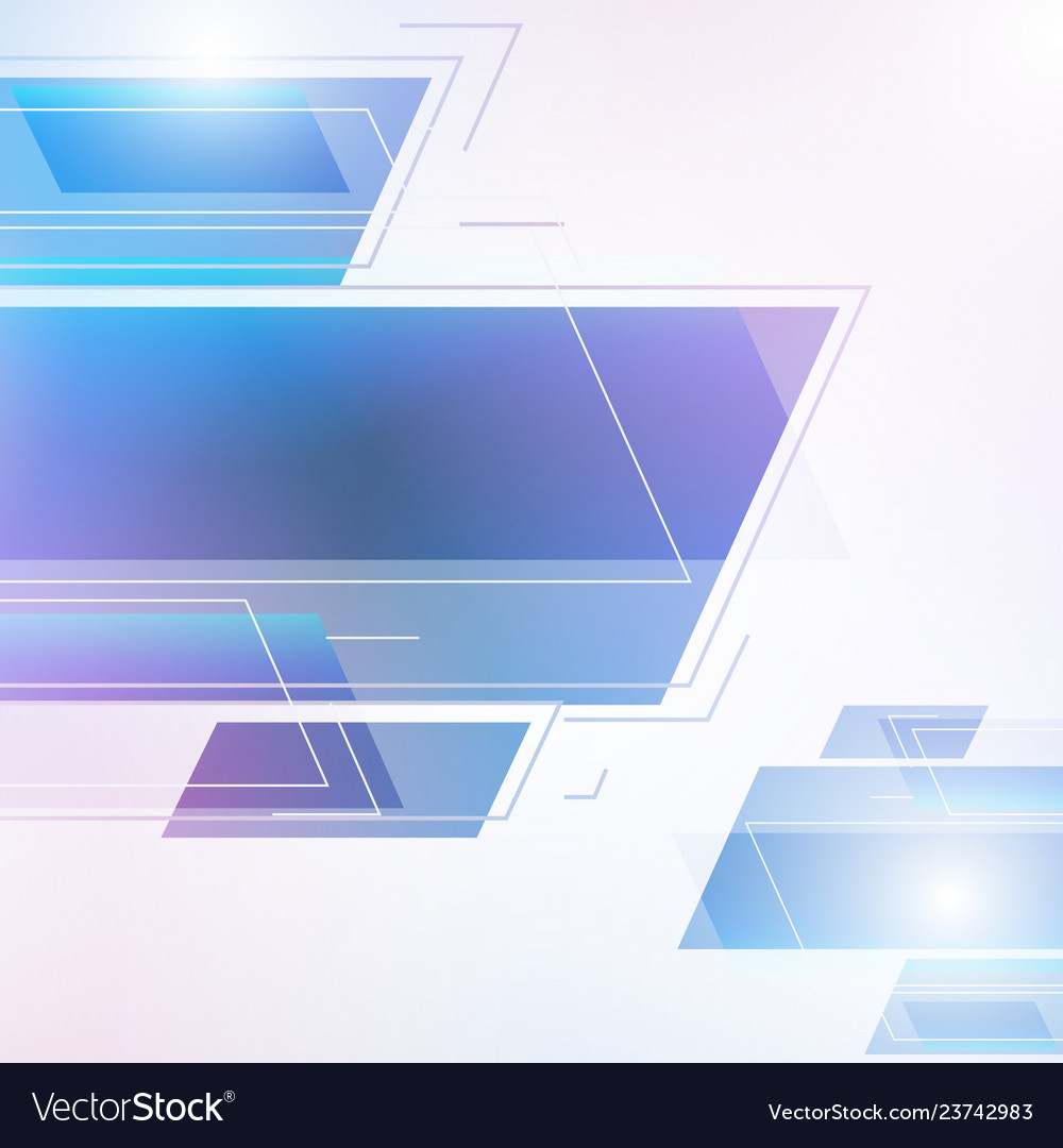 Abstract geometric beautiful color gradients