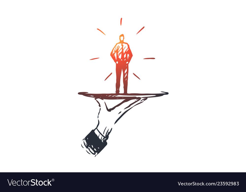 Customer business service help client concept