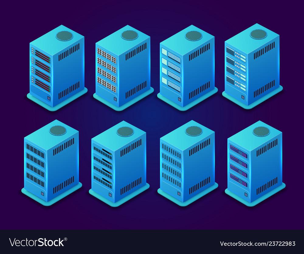 Data server network