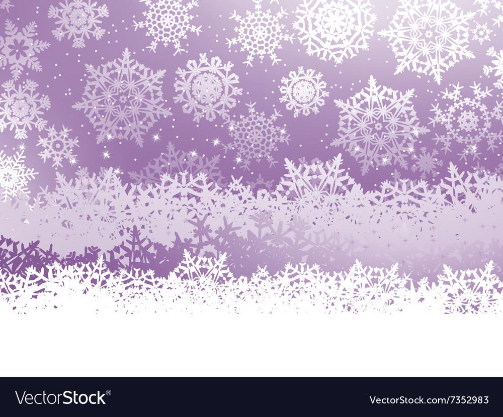 Merry Christmas elegant Greeting Card EPS 8 vector image