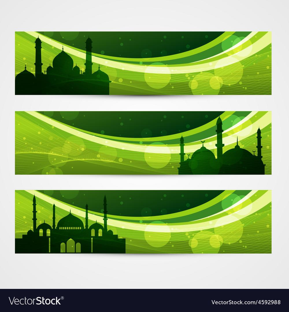 Beautiful ramadan headers