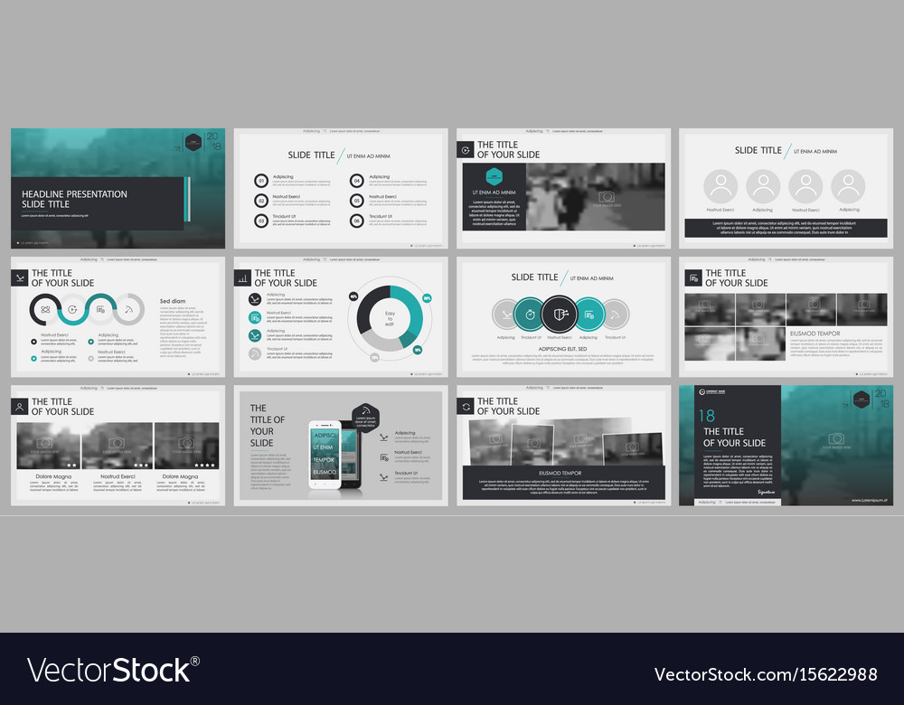 Elements for and presentation templates