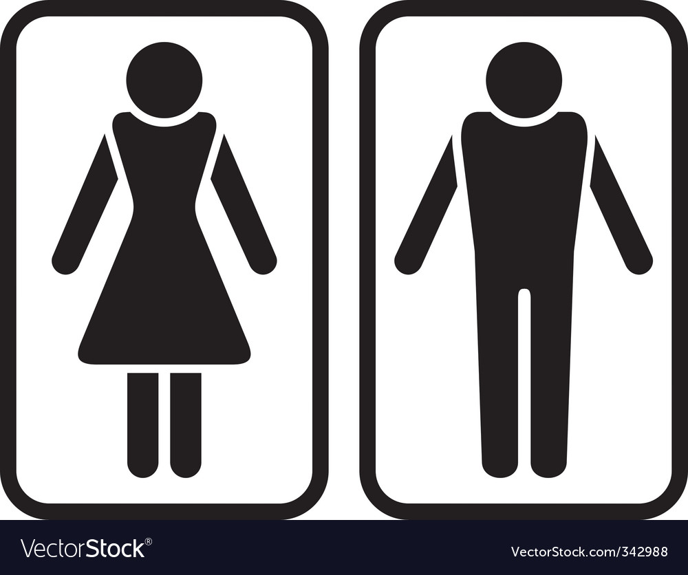 Male Amp Female Symbol Royalty Free Vector Image