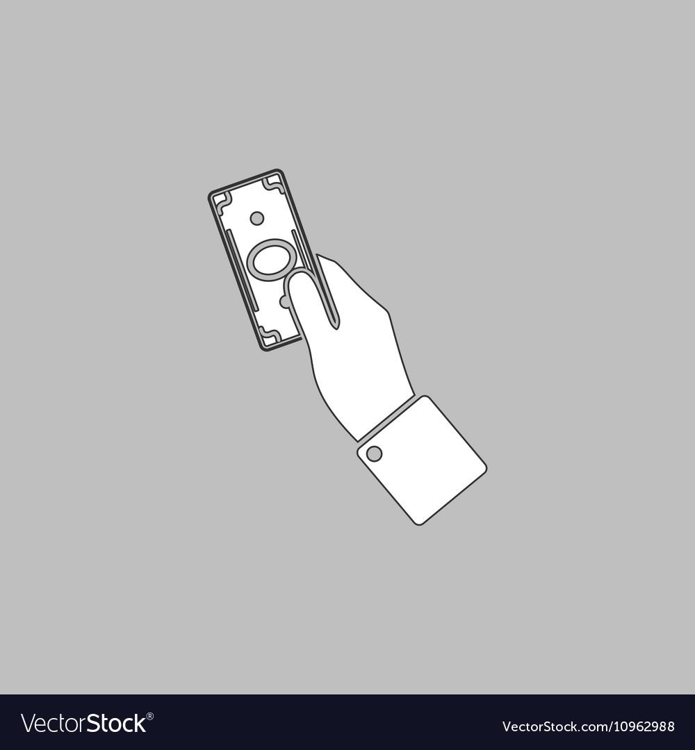 Money computer symbol