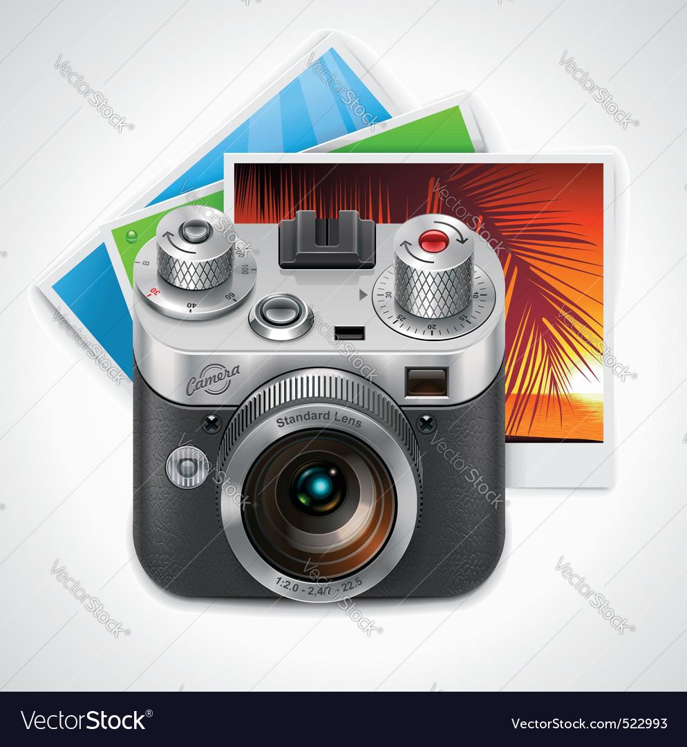 Retro camera xxl icon