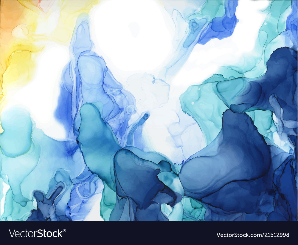 Abstract color ink background