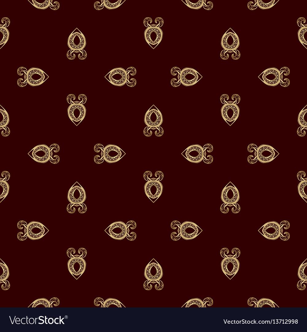 Luxury golden vinous pattern