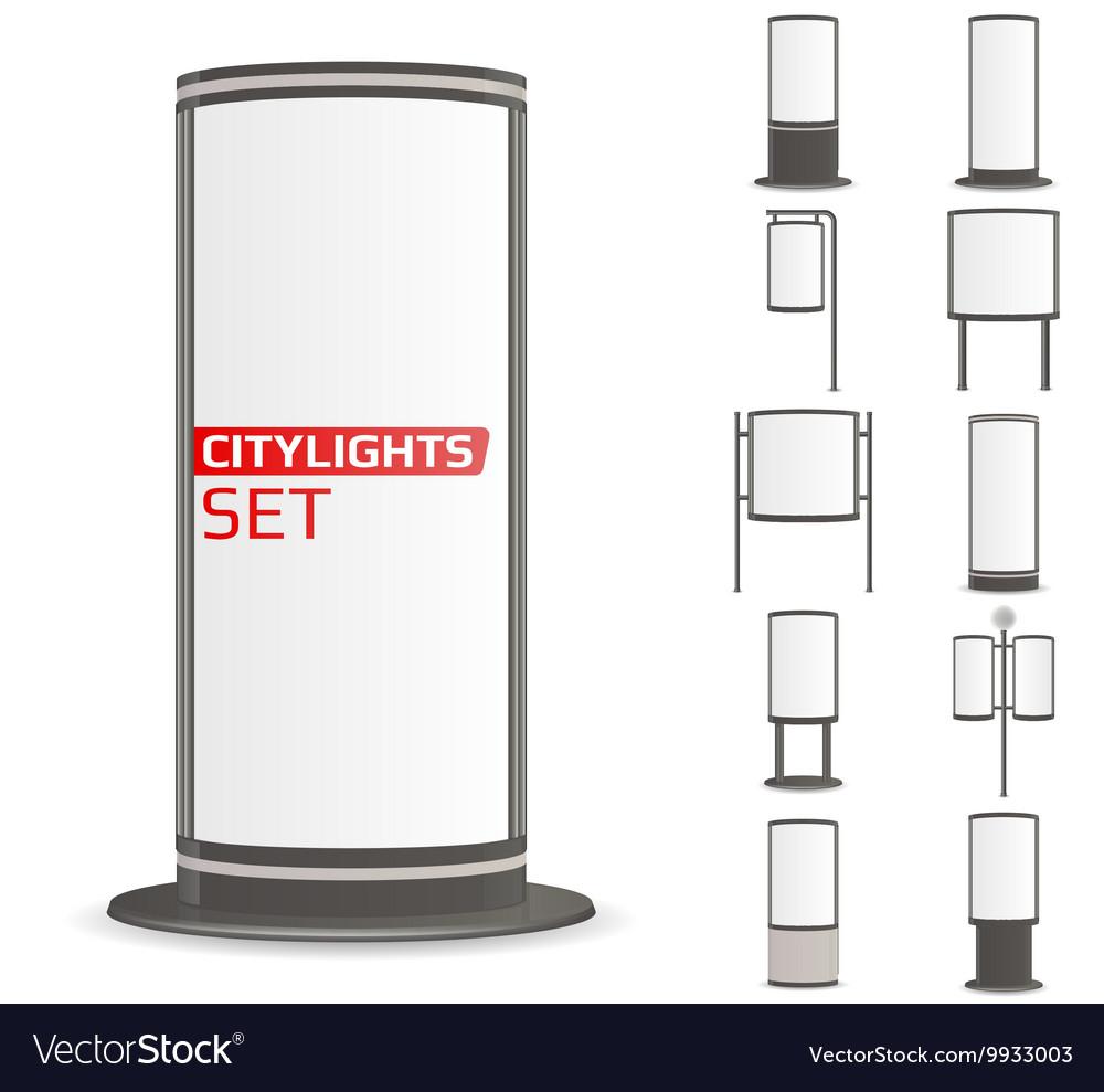 Advertise citylights set