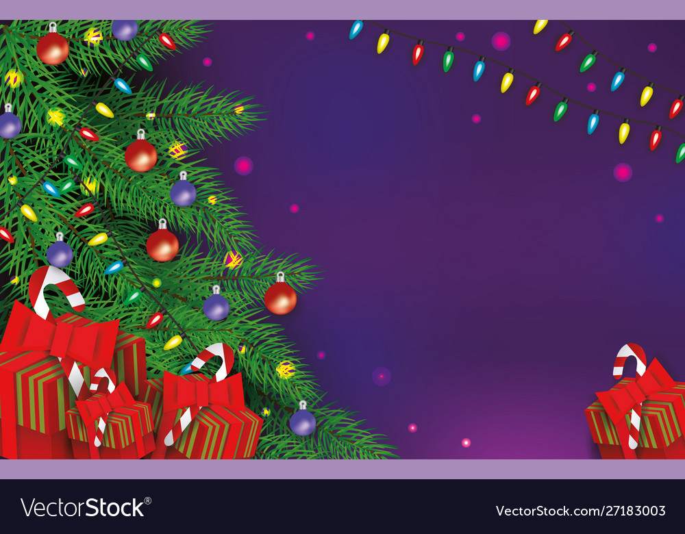 Christmas background with gift boxes xmas holiday