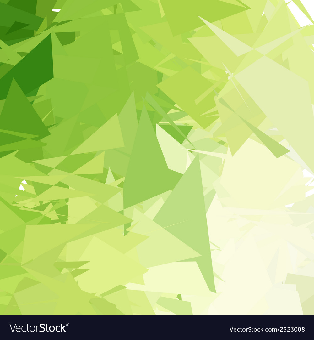 Green Light Abstract Background Royalty Free Vector Image