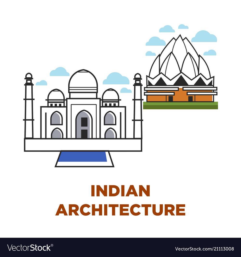 India architecture buildings
