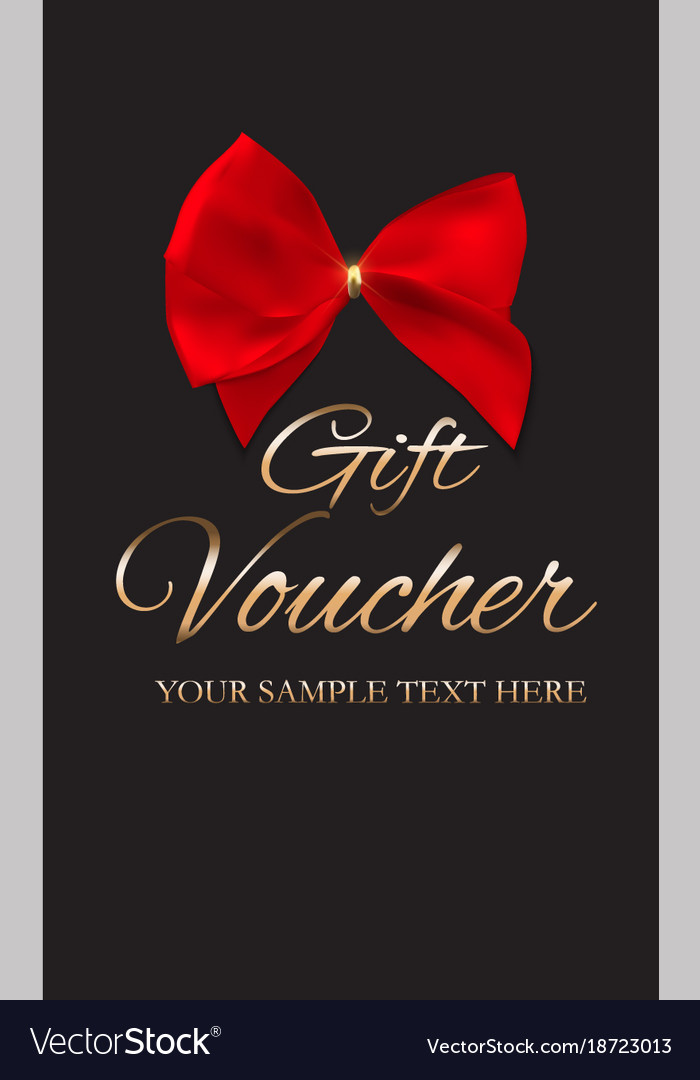 Gift Voucher Template For Your