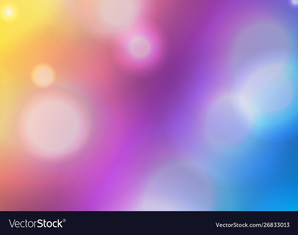 Lights Background Abstract Bokeh Wallpaper