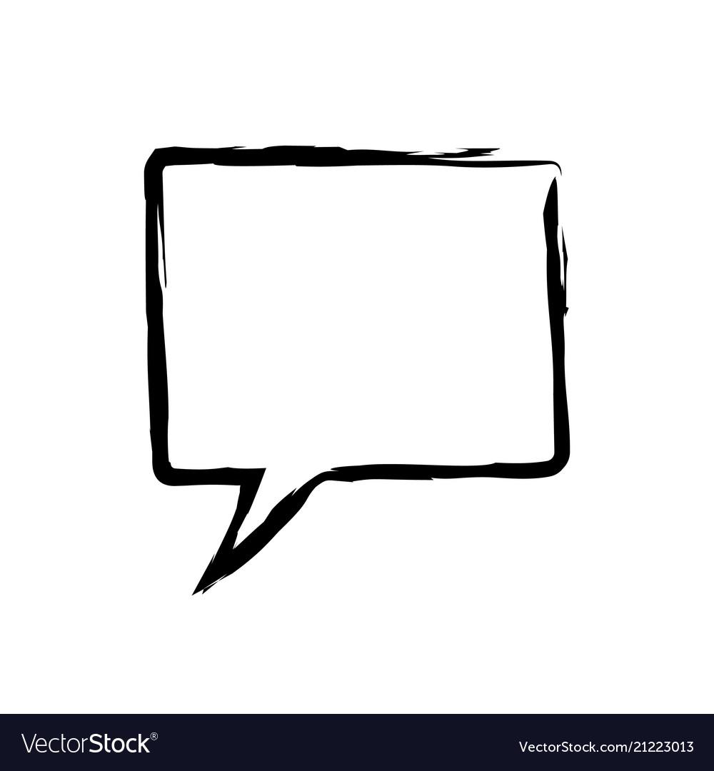 Speech bubbles icon flat icon single high quality