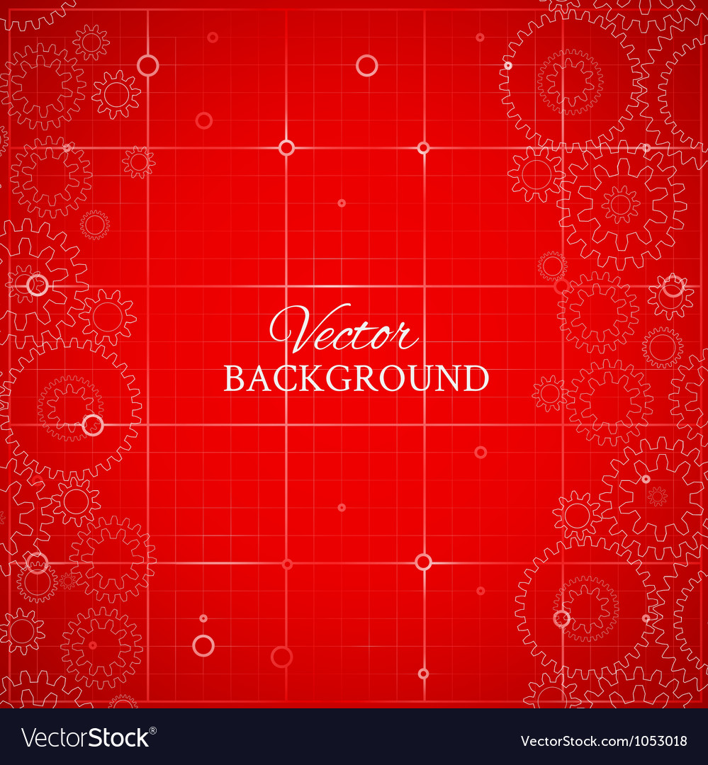 Weels over the blueprint royalty free vector image weels over the blueprint vector image malvernweather Images
