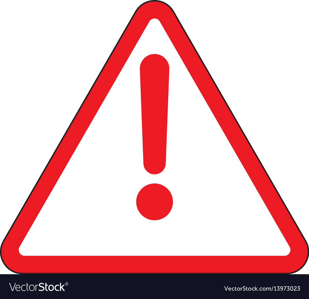 Alert icon stock vector image