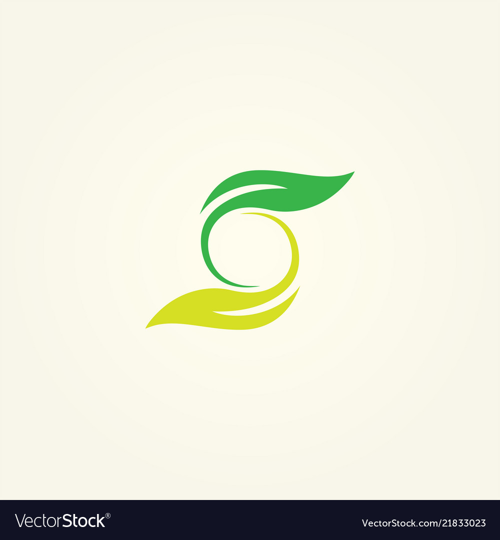 Logo s icon s abstract