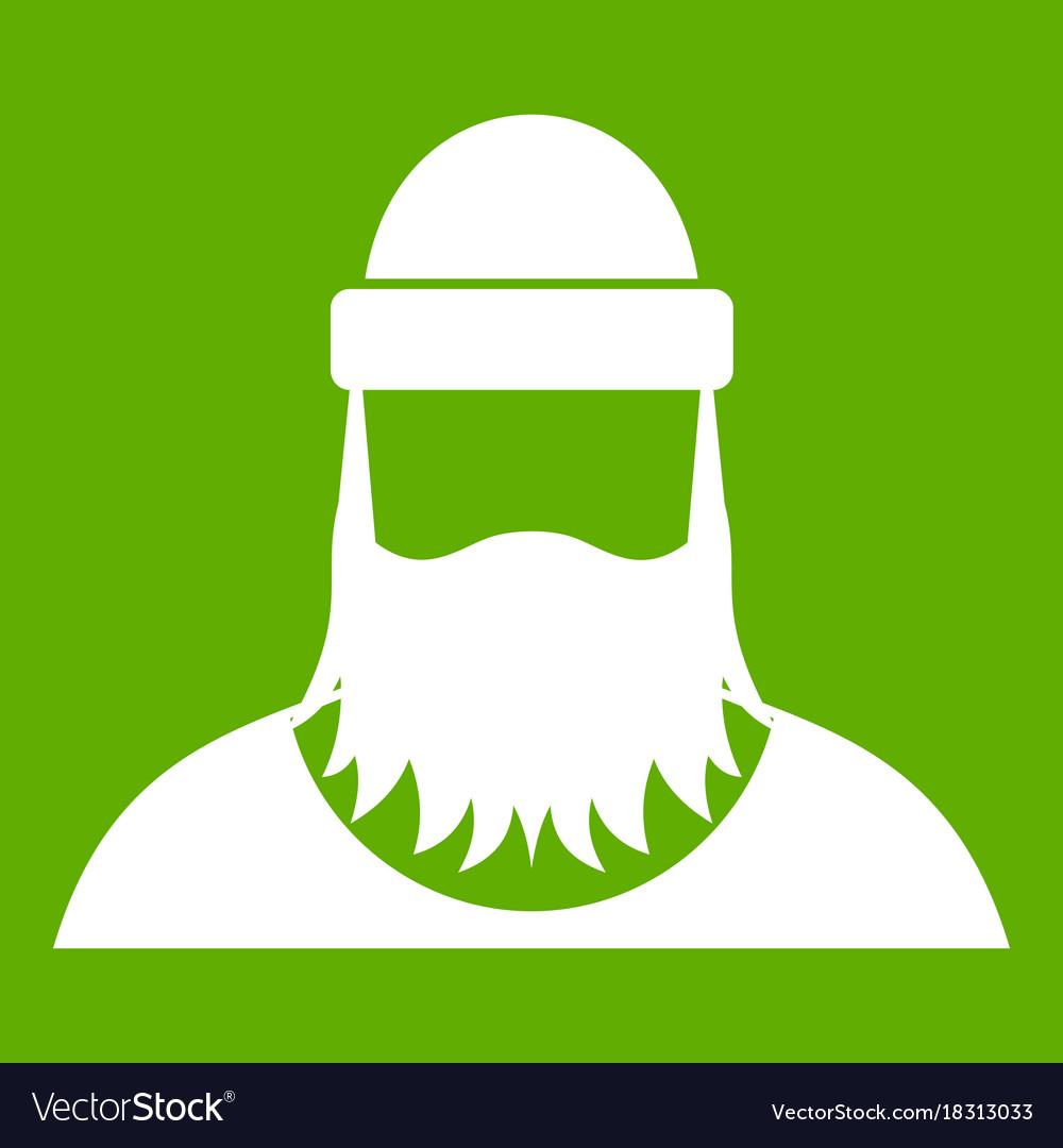Lumberjack icon green
