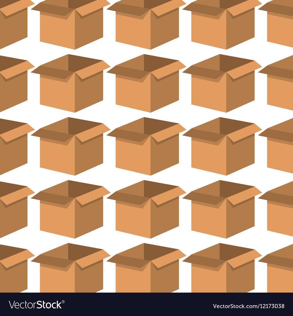 Box carton pattern background
