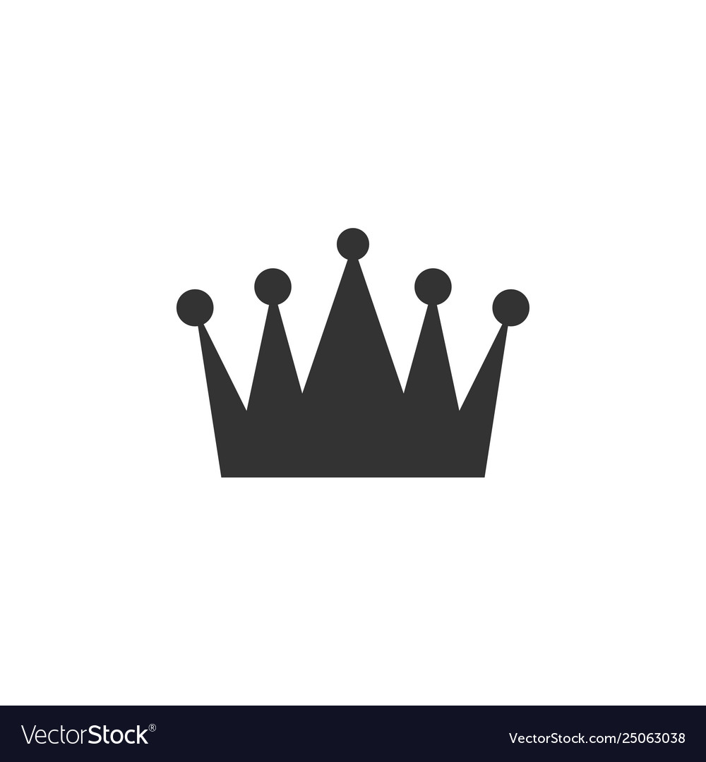 Crown clip art design isolated
