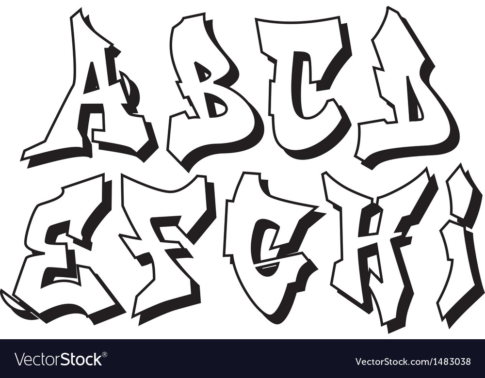 Graffiti alphabet - Graffiti alfabet ...