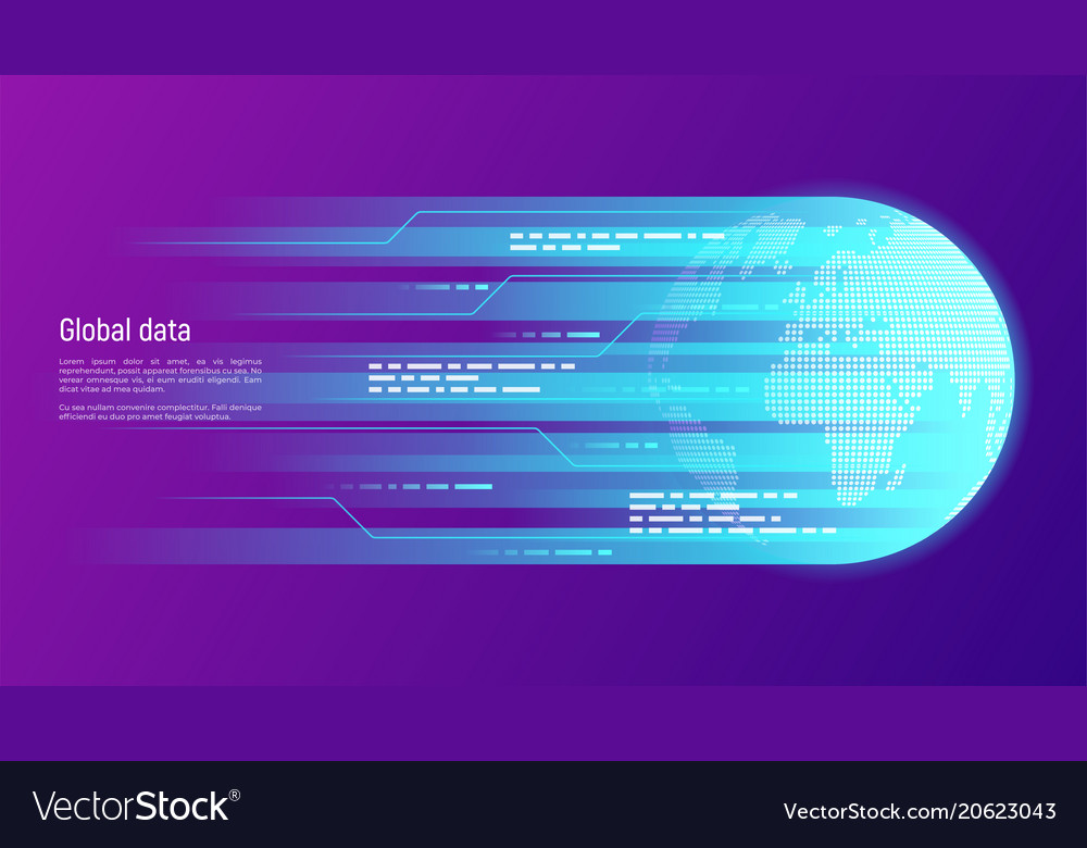 Global data network and information technology
