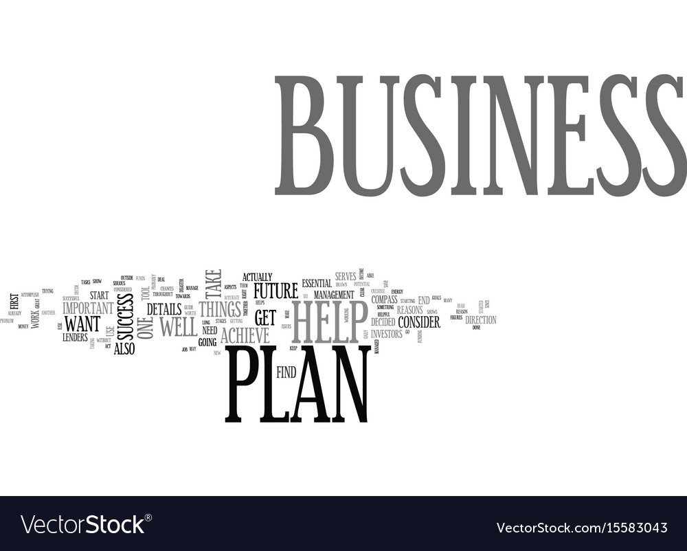Why a business plan is so important for your