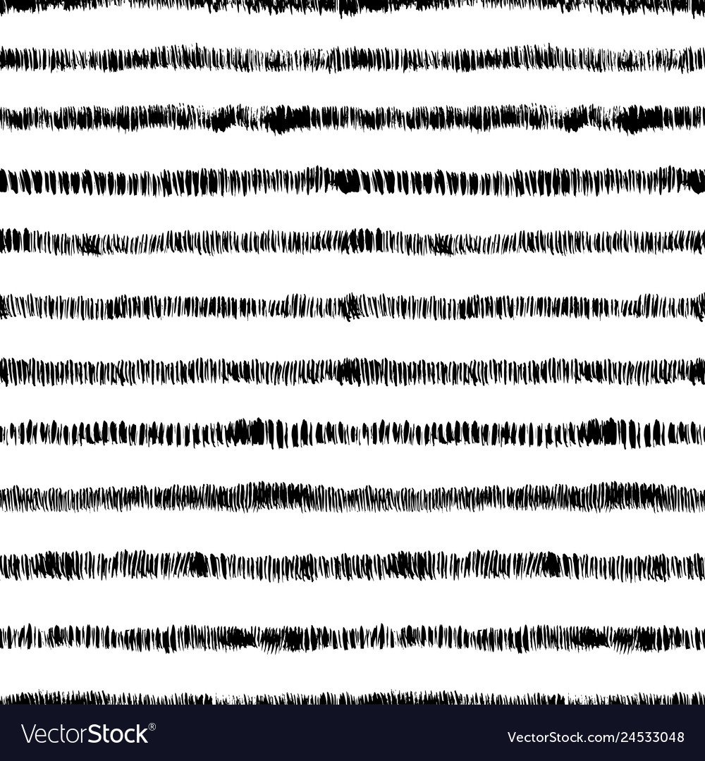 Seamless pattern with horizontal stripes